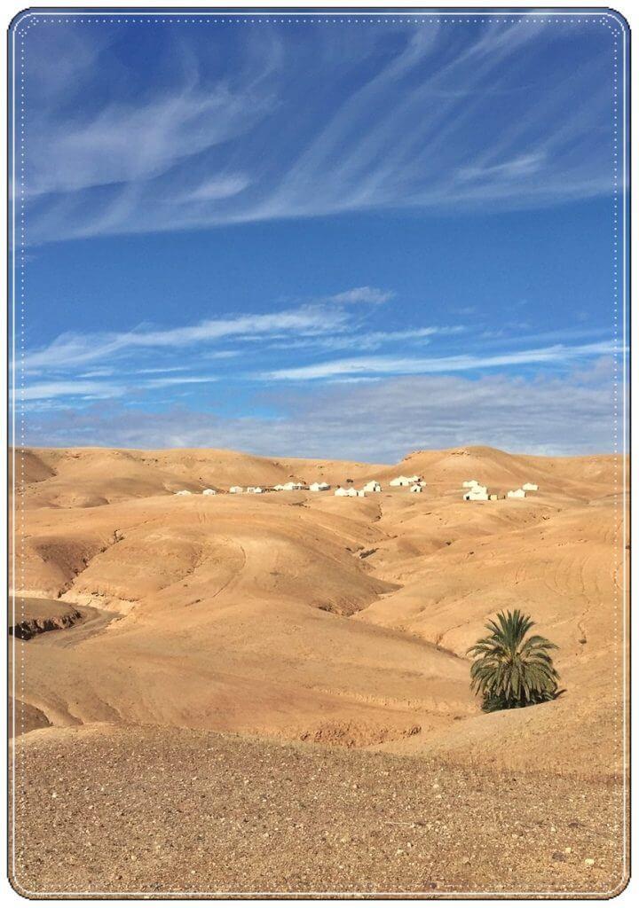 Agafay Desert Day Trip view
