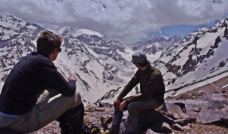 Toubkal Winter Climb Hiking