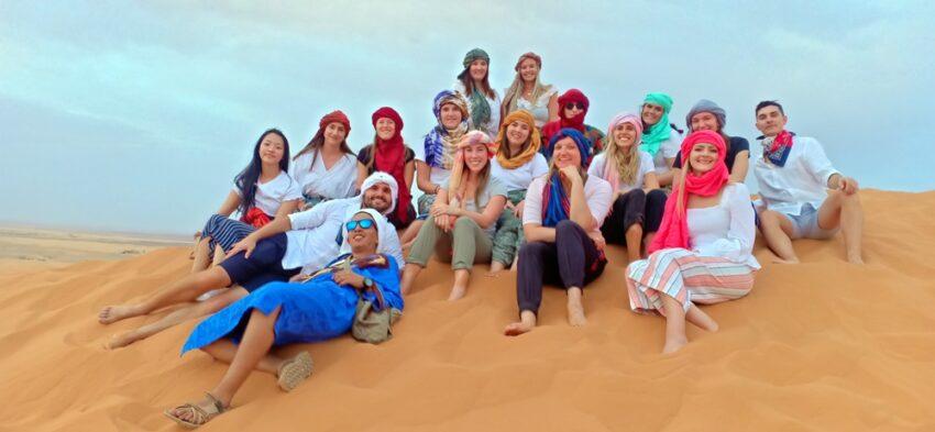 trekking holidays sahara desert morocco