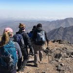 Toubkal Peak - students group 1