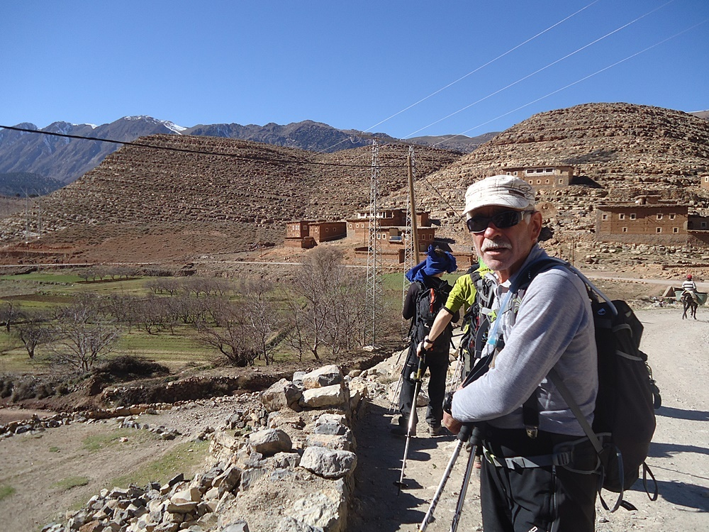 Trekking in Morocco Mountains