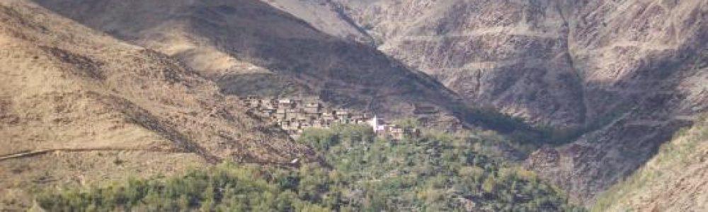 Aghbar trekking in Morocco - Atlas Mountains