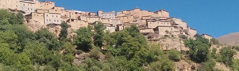 Aghbar trekking in Morocco - Atlas