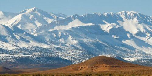Mountain treks Ayachi Mountain in Eastern High Atlas Mountains