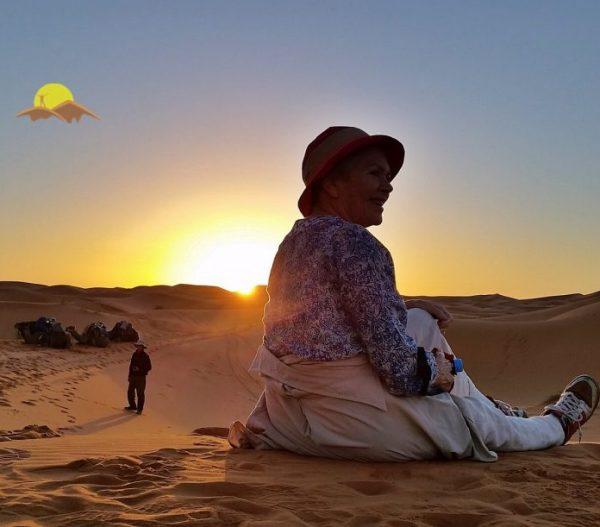Camel trek experience