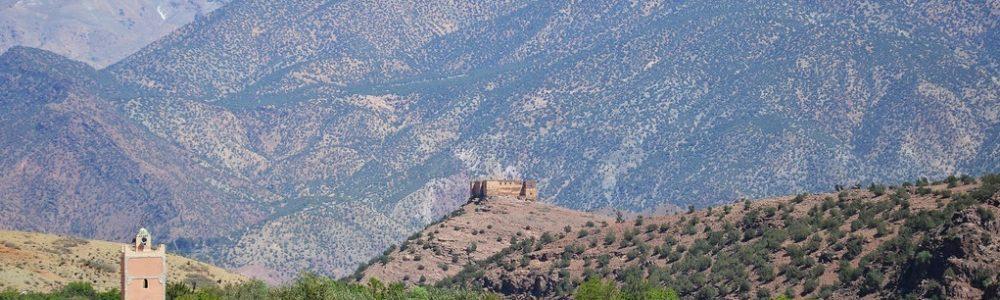 Mezguita Kasbah Nfis Valley
