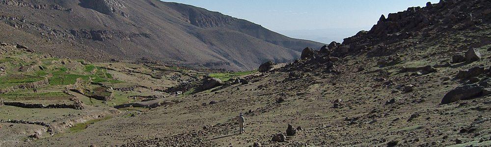 Trekking in Siroua Morocco