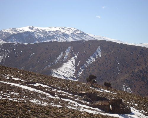 The Mgoun Summit - Central High Atlas Mountains