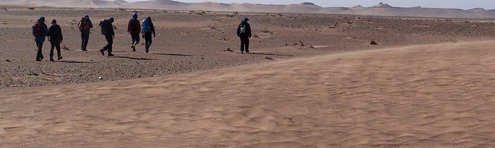 trekking in the desert chegaga
